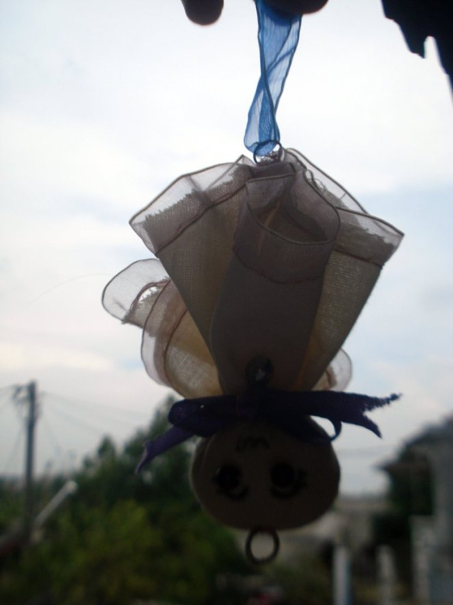 self-made teru teru bozu :)